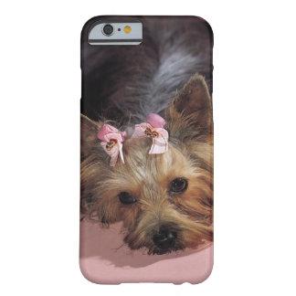 Caso adorable del iPhone 6 del perro del KRW Funda De iPhone 6 Barely There