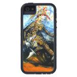 Caso africano de Iphone de la mascarada de Onitsha iPhone 5 Protector