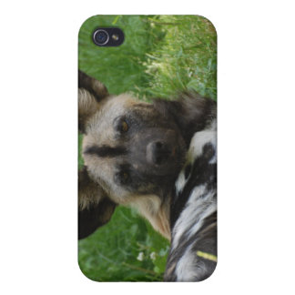 Caso africano del iPhone 4 de la foto del perro sa iPhone 4 Funda