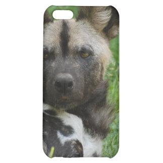 Caso africano del iPhone 4 del perro salvaje