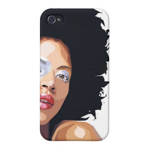 caso Afro-céntrico del iPhone 4 iPhone 4 Protector