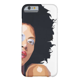 caso Afro-céntrico del iPhone 6 Funda Barely There iPhone 6