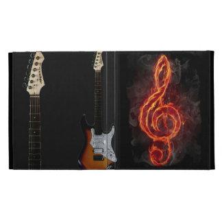 caso agudo del ipad de la guitarra del fuego