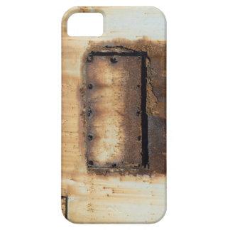 Caso aherrumbrado del iPhone del metal iPhone 5 Case-Mate Protectores