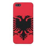 Caso albanés del iPhone de la bandera iPhone 5 Coberturas
