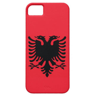 Caso albanés del iPhone de la bandera Funda Para iPhone SE/5/5s