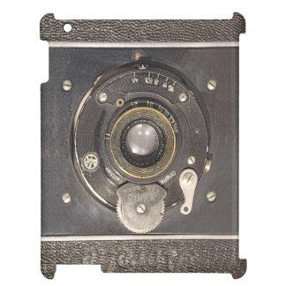 Caso alemán del iPad de la cámara del vintage