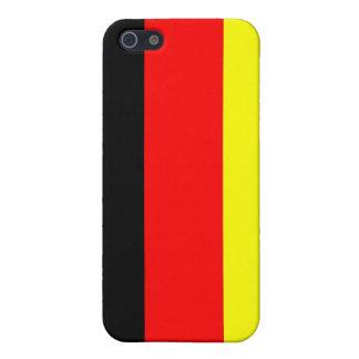 Caso alemán del iPhone 4 de la bandera iPhone 5 Carcasa
