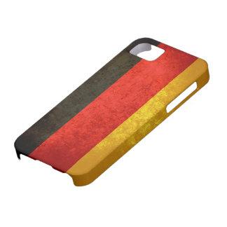 Caso alemán del iPhone 5 de la bandera iPhone 5 Funda