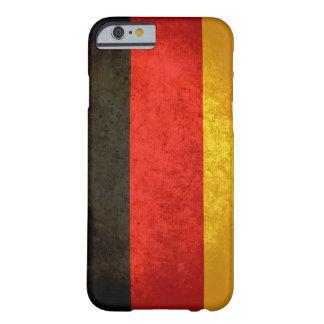 Caso alemán del iPhone 6 de la bandera Funda Para iPhone 6 Barely There