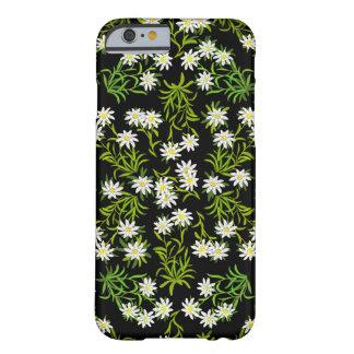 Caso alpino del iPhone 6 de las flores de Funda De iPhone 6 Barely There