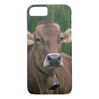 Caso alpino del iPhone 7 de la vaca Funda iPhone 7