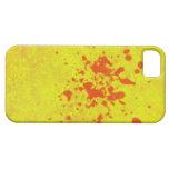 caso amarillo del iphone iPhone 5 coberturas