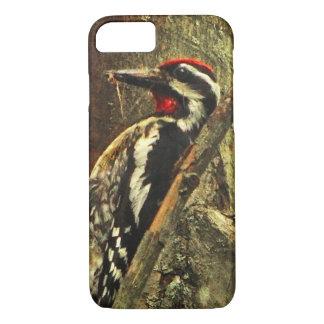 caso Amarillo-hinchado del iPhone 7 del pájaro del Funda iPhone 7