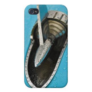 Caso americano clásico del iPhone 4 de la aleta de iPhone 4 Carcasa