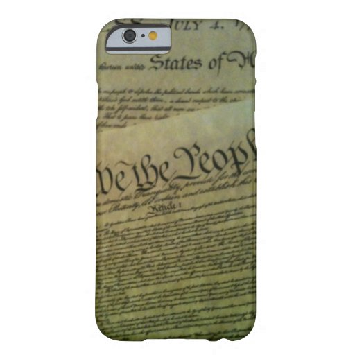 Caso americano de la historia funda de iPhone 6 barely there