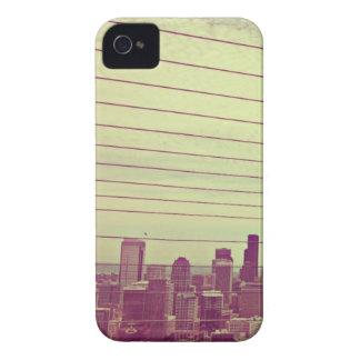 Caso americano del iPhone 4/4s de Seattle Scape de iPhone 4 Carcasas
