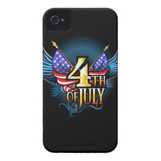 Caso americano del iPhone 4 de la independencia Carcasa Para iPhone 4 De Case-Mate