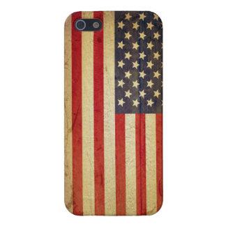 Caso americano del iPhone 5 de la bandera de los E iPhone 5 Protector