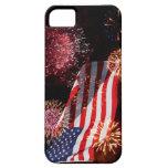 Caso americano del iPhone 5 de los fuegos artifici iPhone 5 Case-Mate Carcasas