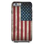Caso americano del iPhone 6 de la bandera de los