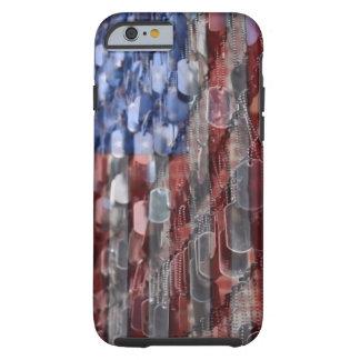 Caso americano del iPhone 6 del sacrificio Funda Para iPhone 6 Tough