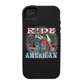 Caso americano del motorista iPhone4 iPhone4s de Vibe iPhone 4 Carcasa