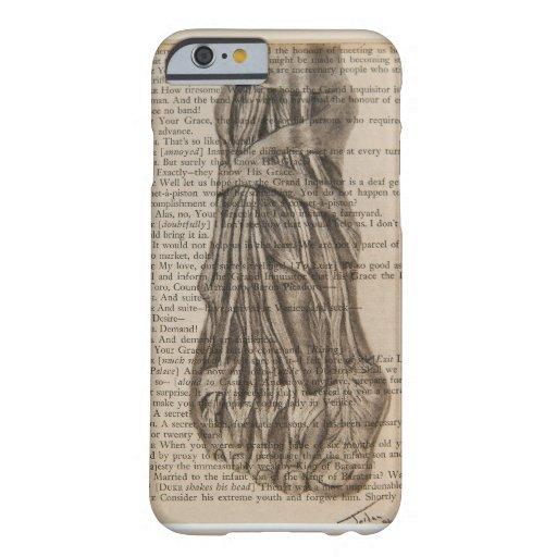 caso anatómico del iPhone 6 del pie Funda De iPhone 6 Barely There