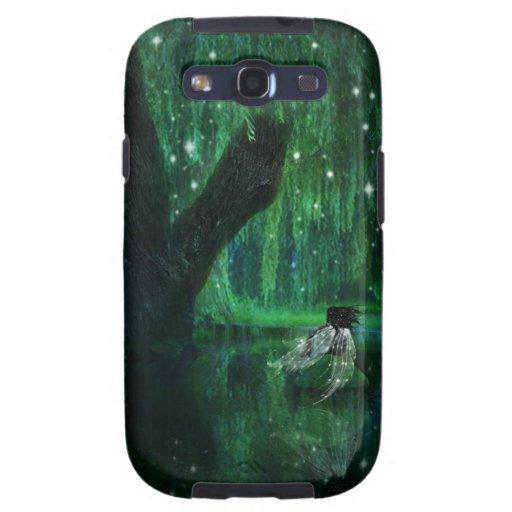 """Caso androide de Samsung de """"mi lugar feliz"""" Galaxy S3 Fundas"""