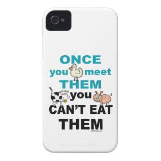 Caso animal de la compasión iphone4 iPhone 4 Case-Mate coberturas