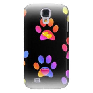 Caso animal de Samsung S4 de la impresión de las p Funda Para Galaxy S4