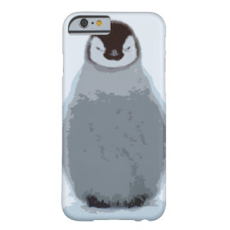 Caso animal del iPhone 6 del pingüino Funda Barely There iPhone 6