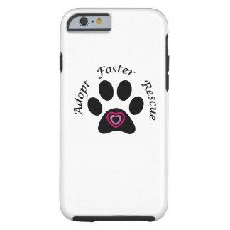 Caso animal del iPhone 6 del rescate Funda Resistente iPhone 6