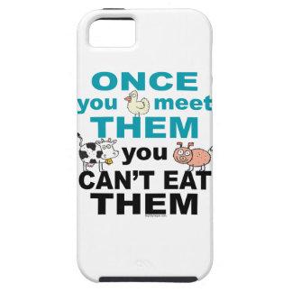 Caso animal del iphone de la compasión iPhone 5 fundas