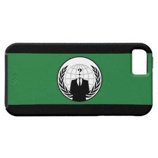 Caso anónimo del iPhone 5 de la bandera iPhone 5 Carcasas