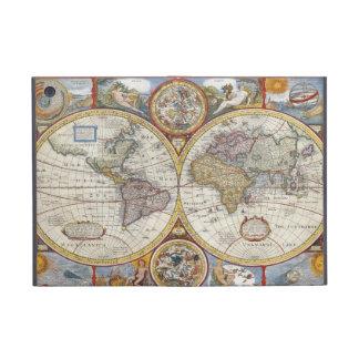 Caso antiguo de Ipad del mapa de Viejo Mundo del v iPad Mini Coberturas