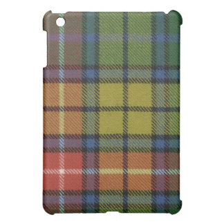 Caso antiguo del iPad del tartán de Buchanan