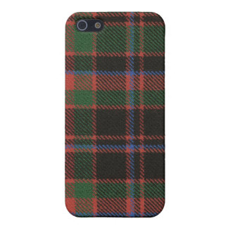 Caso antiguo del iPhone 4 del clan de Buchanan iPhone 5 Fundas