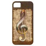 Caso antiguo del iPhone 5 del Clef agudo del amant iPhone 5 Case-Mate Cobertura