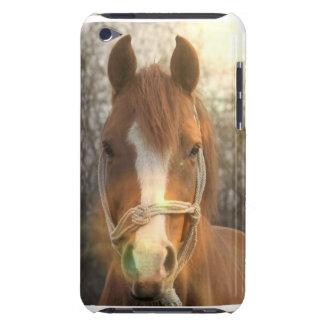 Caso árabe de iTouch del caballo de la castaña iPod Touch Cobertura