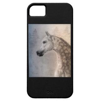Caso árabe del iphone 5 barly allí QPC del caballo iPhone 5 Fundas