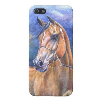 Caso árabe del iPhone del caballo iPhone 5 Cárcasa