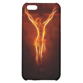 Caso ardiente del iPhone 4 de la crucifixión de Je