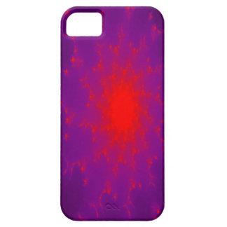 Caso ardiente del iPhone 5 de la galaxia iPhone 5 Case-Mate Carcasa