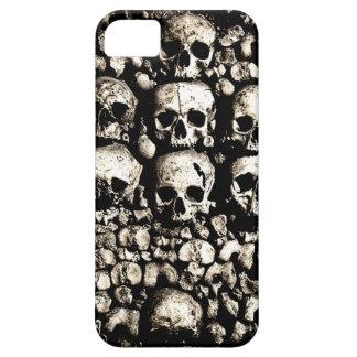 Caso arenoso del iPhone 5/5S de los cráneos Funda Para iPhone SE/5/5s