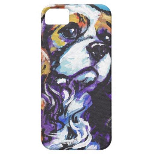 Caso arrogante del iPhone del arte pop del perro d iPhone 5 Cobertura
