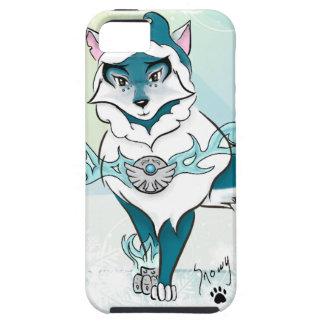 Caso ártico del iPhone 5 del lobo del alcohol iPhone 5 Carcasa