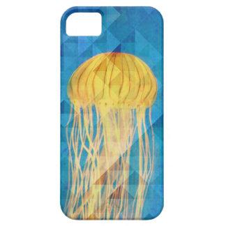 Caso artístico del iPhone 5 del azul de océano de iPhone 5 Fundas