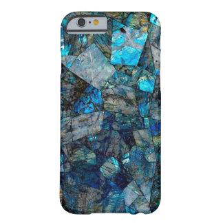 Caso artsy del iPhone 6 de las gemas del extracto Funda Barely There iPhone 6