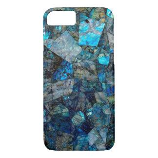 Caso artsy del iPhone 7 de las gemas del extracto Funda iPhone 7